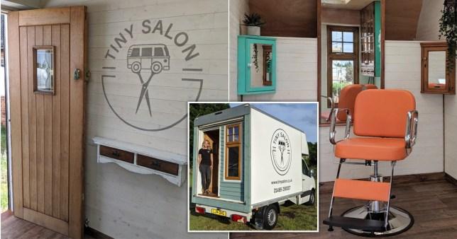 Laura Snellgrove's tiny salon