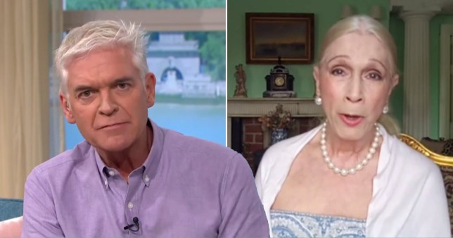 LADY C And Phillip Schofield