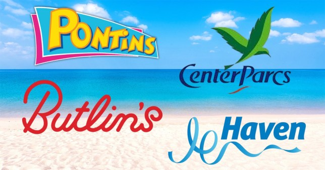 comp of holiday park logos