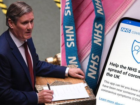 Labour accuses Government of 'wasting' £12,000,000 on failed tracing app