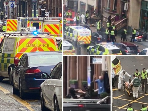 'Three dead' and police officer stabbed at Glasgow hotel