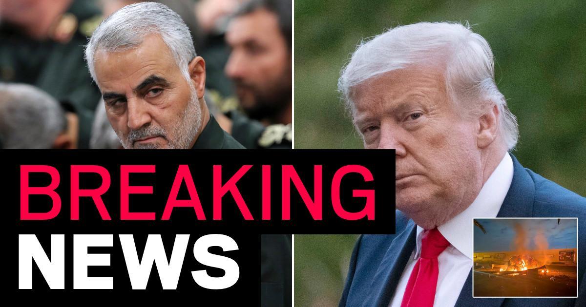 Iran issues arrest warrant for Donald Trump over killing of top general