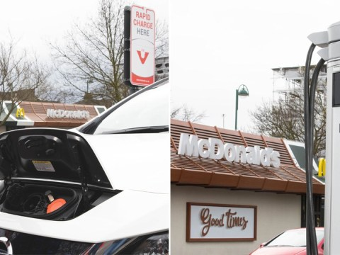 McDonald's to install electric car charge points at UK drive-thrus