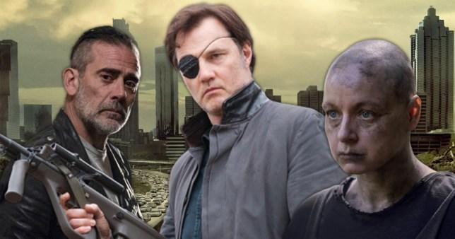 The Walking Dead's Governor, Alpha, Negan