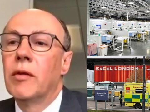 NHS Nightingales could return if UK gets a second peak