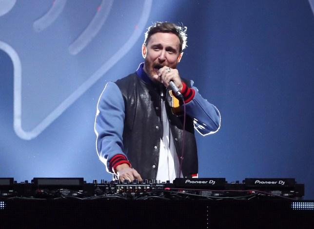 DJ-producer David Guetta performing at the 2017 iHeartRadio Music Festival in Las Vegas