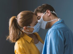 Have sex wearing a face mask to reduce coronavirus risk, says charity