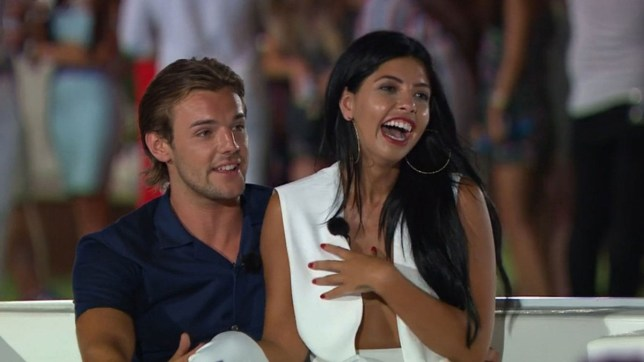 Editorial use only Mandatory Credit: Photo by ITV/REX (5768913t) Nathan Massey and Cara De La Hoyde are crowned Love island winners 'Love Island', Series 2 TV show, Episode 43 - The Final, Mallorca, Spain - 2016
