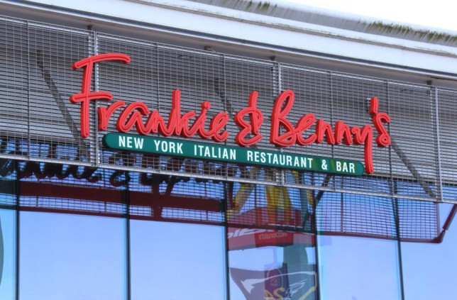 A Frankie & Benny's restaurant in London