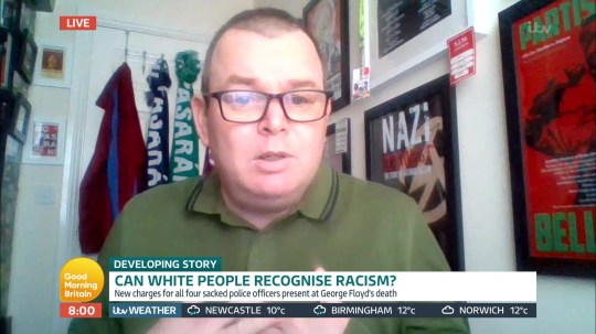 GMB debate 'Can white people recognise racism'