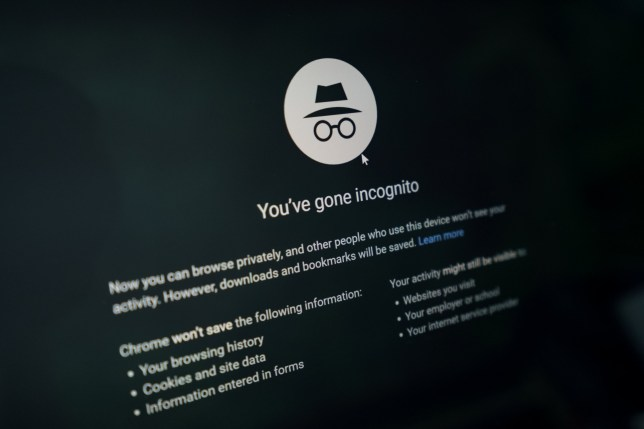 A lawsuit in the US claims Incognito mode isn't as private as it should be (Credits: Shutterstock / Sam Kresslein)