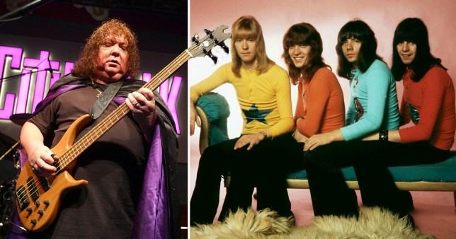 Sweet bassist dies Steve Priest