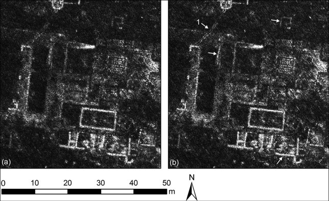 Ground penetrating radar images of the Roman city of Falerii Novi, Italy (Credits: PA)