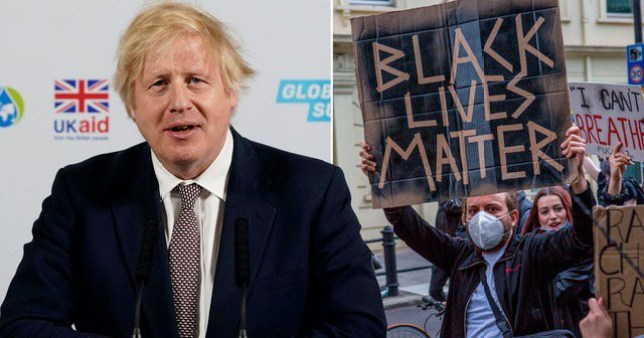 Boris Johnson does not believe that the UK is a racist country