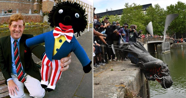 Politician Richard Eddy who previously used a golliwog as a mascot has now claimed that Edward Colston is a hero to many in the city of Bristol