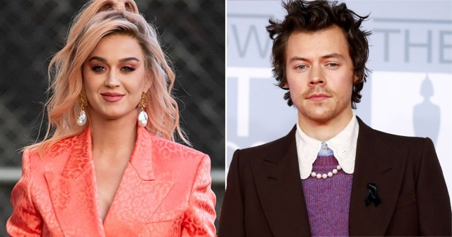 Katy Perry and Harry Styles