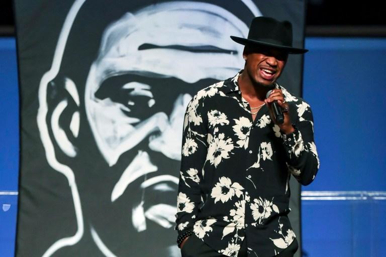 Ne-Yo George Floyd funeral