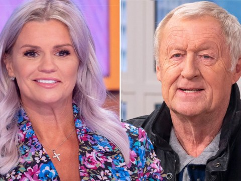 Kerry Katona remembers bursting into tears after Chris Tarrant told her he 'didn't like' her