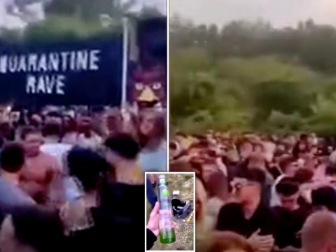 New footage shows ravers at illegal party where man died of suspected overdose