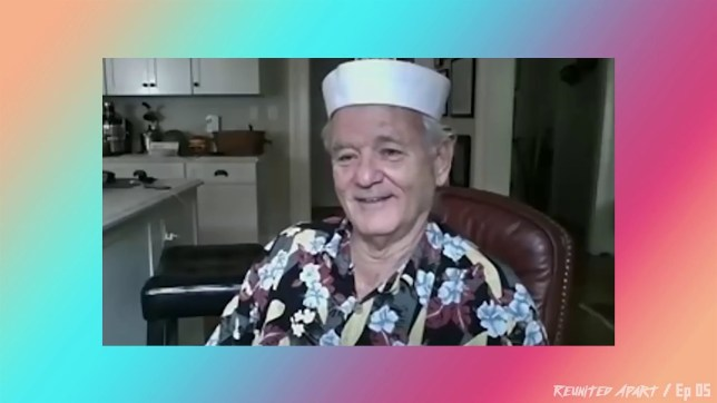 Bill Murray in Reunited Apart Hosted By Josh Gad