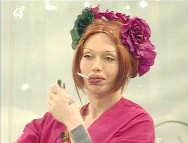 Mandatory Credit: Photo by REX (568437f) Pete Burns 'CELEBRITY BIG BROTHER' TV PROGRAMME, BRITAIN - 12 JAN 2006