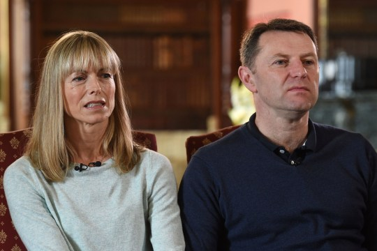 Madeleine McCann's parents, Kate and Gerry McCann