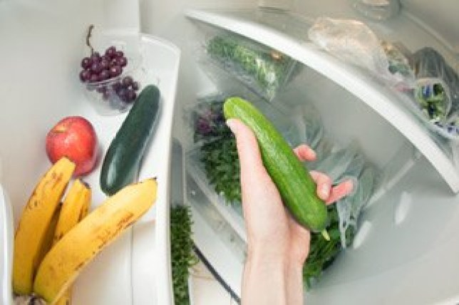 Sorry to blow your minds but cucumbers don't actually go in the fridge