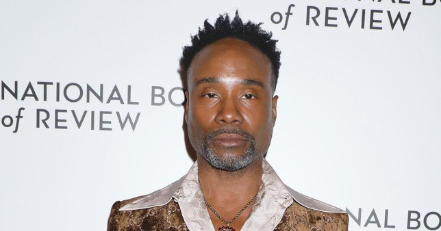 Mandatory Credit: Photo by Gregory Pace/REX (10521230ae) Billy Porter National Board of Review Annual Awards Gala, Arrivals, Cipriani 42nd Street, New York, USA - 08 Jan 2020