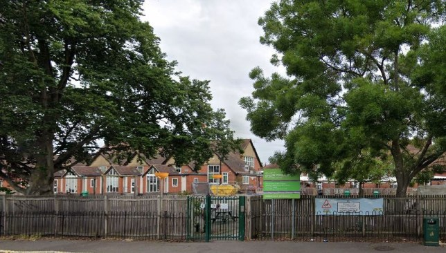 Epsom Primary School which was forced to close for two weeks after an member of the external catering team contracted coronavirus (Covid-19)