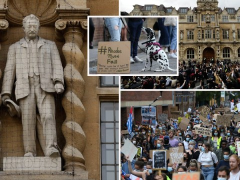 Removal of Cecil Rhodes statue backed by Oxford University college