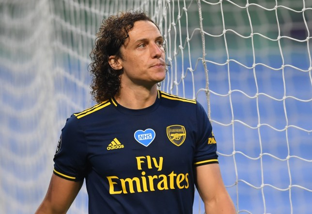 David Luiz had a game to forget as Arsenal struggled against Manchester City
