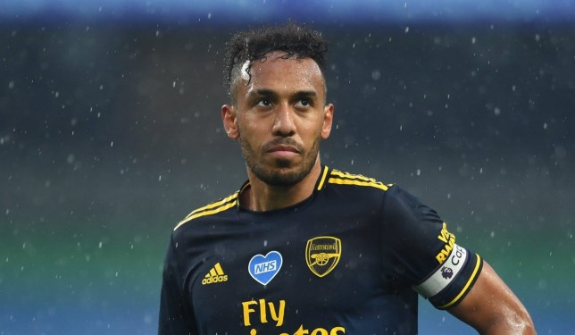 Pierre-Emerick Aubameyang has said sorry for Arsenal's defeat to Manchester City