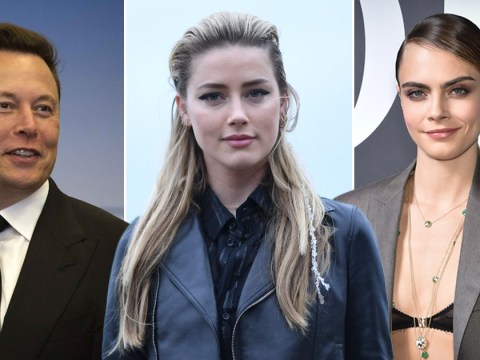 Elon Musk denies having threesome with Cara Delevingne and Amber Heard
