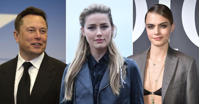 Amber Heard had threesome with Cara Delevingne and Elon Musk, claims deposition - all the legalling pics: Getty