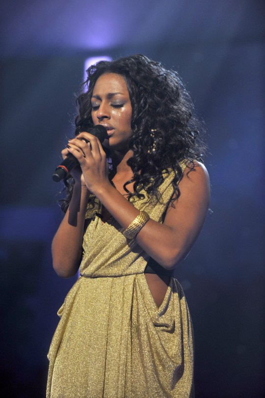 Alexandra Burke The X Factor TV Programme, London, Britain - 13 Dec 2008 Editorial use only. No book publishing. Mandatory Credit: Photo by Ken McKay/REX (831448dl)