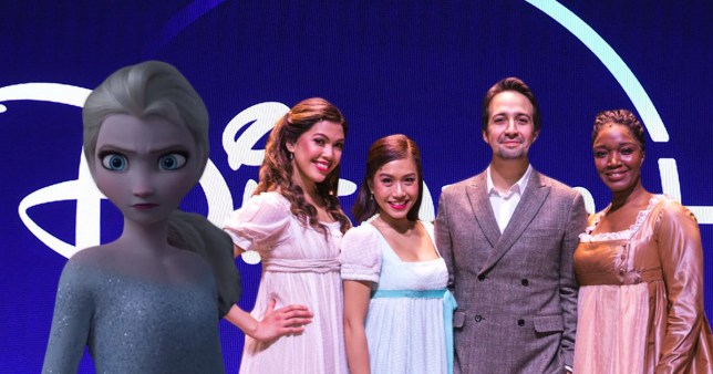 Disney Plus Hamilton and Frozen 2