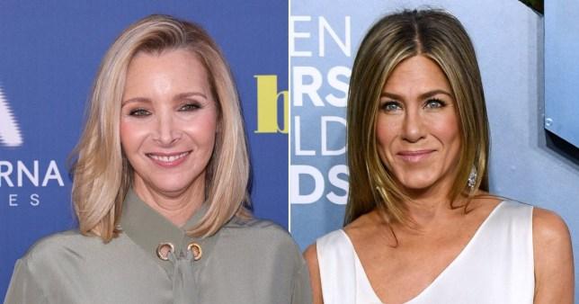 Lisa Kudrow and Jennifer Aniston