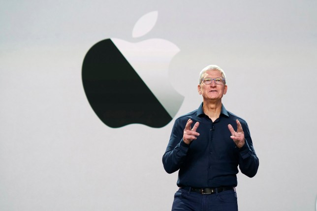 Apple CEO Tim Cook as he delivers the keynote address during the 2020 Apple Worldwide Developers Conference (WWDC) at Steve Jobs Theater in Cupertino, California (Credits: EPA)