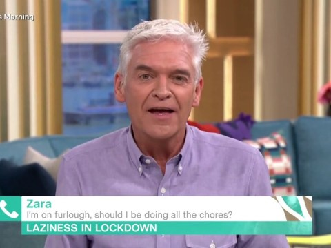 Phillip Schofield calls out This Morning viewer in awkward phone-in interview: 'I am on the thinnest of ice here'