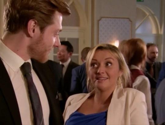 Kimberly Hart Simpson appears as Nicky in Coronation Street alongside Rob Mallard's character Daniel Osbourne