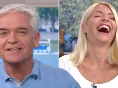 Phillip Schofield in stitches as he confuses holiday company with sex toy website Lovehoney
