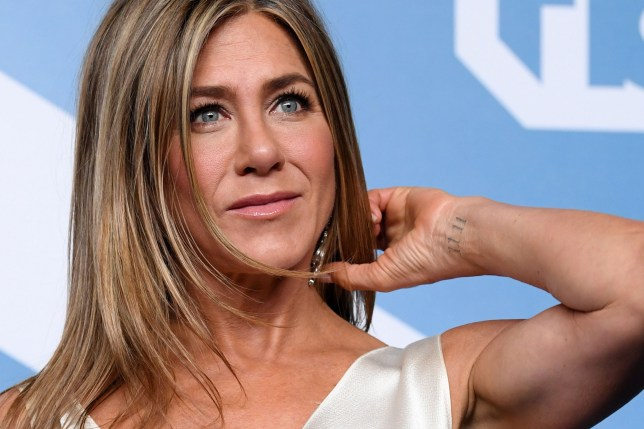Jennifer Aniston at the 26th Annual Screen Actors Guild Awards in Los Angeles