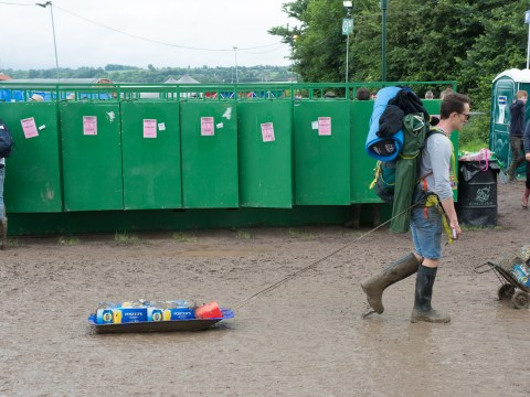 Tales of a Glastonbury toilet cleaner: 'We'd take shifts napping in the loos'