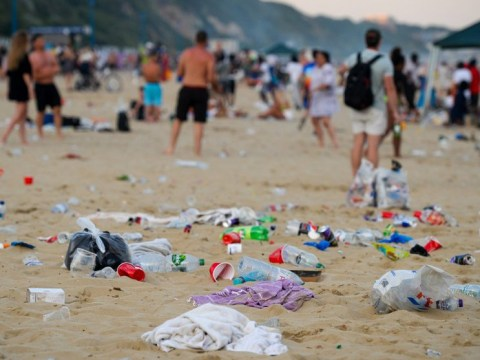 41 tonnes of rubbish left on Bournemouth coast 'including poo in takeaway boxes'
