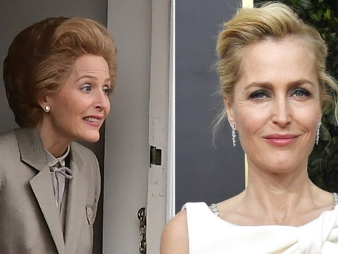 Gillian Anderson seriously nervous about playing Margaret Thatcher on The Crown: 'I almost died'