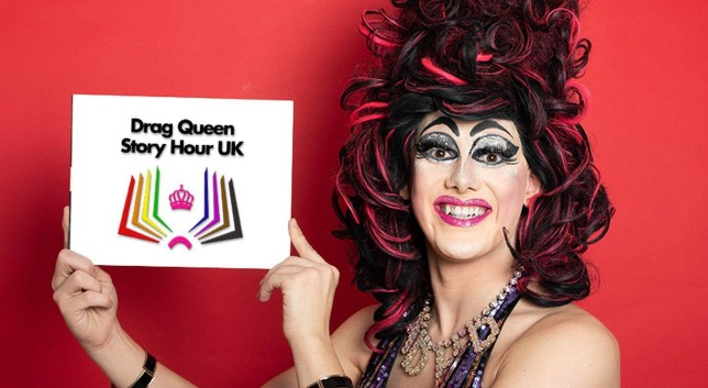 Sab Samuel, 25, who founded Drag Queen Story Hour UK, was subject to death threats from trolls