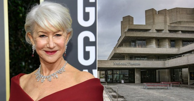 Dame Helen Mirren calls for urgent help for UK's theatres as she warns of the loss of 'a cultural history and an identity of our nation' Pics: Getty