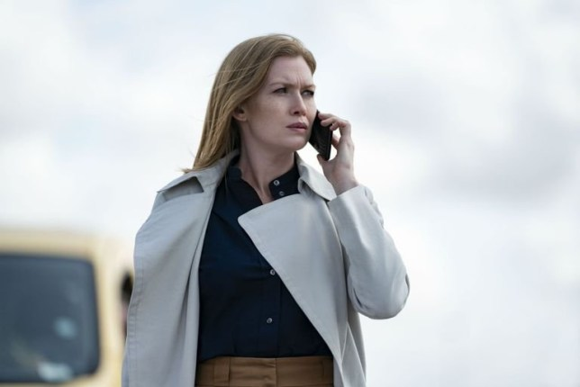 Mireille Enos and Esme Creed-Miles Hanna season 2