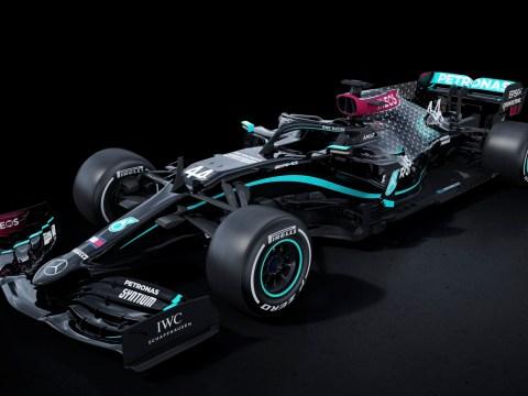Lewis Hamilton reaffirms anti-racism message as Mercedes unveil all-black car