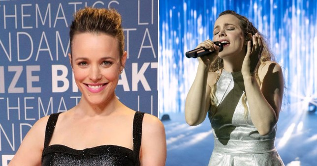 Does Rachel McAdams really sing in Netflix's Eurovision movie?